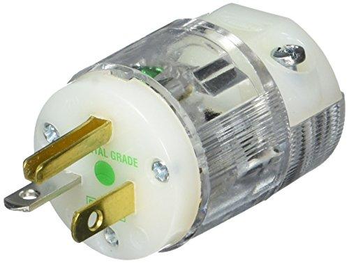 Hubbell HBL8315CT Plug, Hospital Grade, 20 amp, 125V, 5-2...