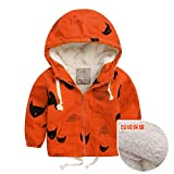 LJYH 2018 Spring and Autumn Boy's Cartoon Hooded Trench Jacket