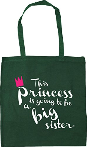 Green Shopping sister 42cm Tote is Bag HippoWarehouse This to Bottle big going x38cm 10 Beach Gym be a princess litres n86zH6qWvg