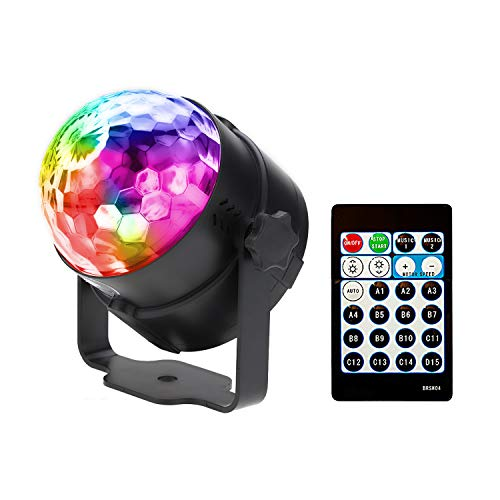 Commercial Lighting Glorious Projector Christmas Light Dj Disco Ball Lumiere Sound Activated Laser Effect Party Music Lamp Led Stage Light Disco Lights Quality And Quantity Assured Lights & Lighting
