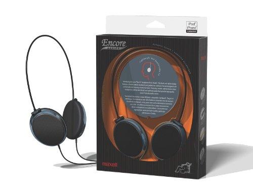 Maxell 190230 Encore Series EN-1 Headphone (Black)