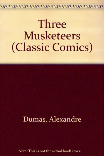 Book cover for The Three Musketeers