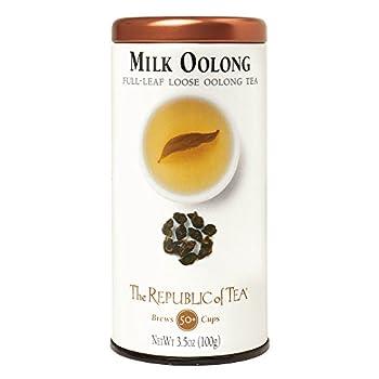 Republic of Tea Milk Oolong Full Leaf, 3.5 oz