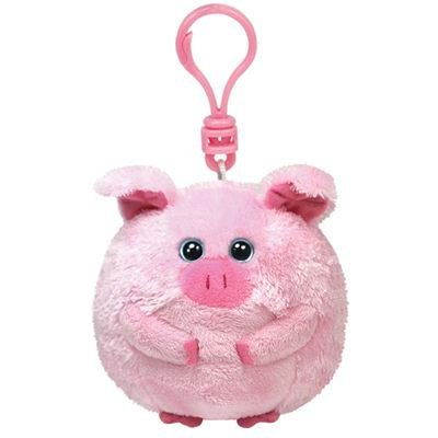 4e8715eb5f6 Amazon.com  Ty Beanie Ballz - Beans-Clip the Pig  Toys   Games