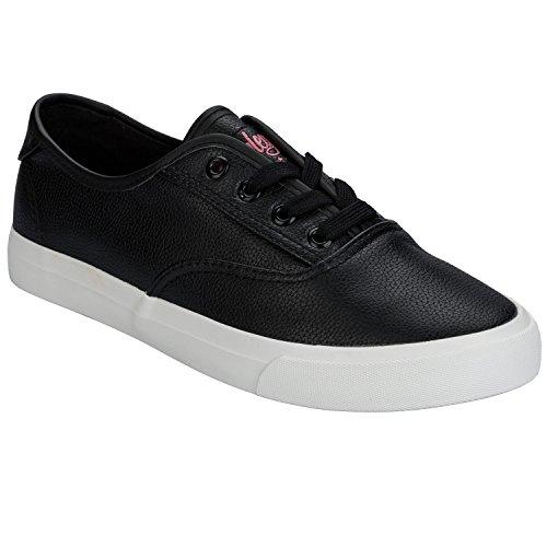 Henleys , Damen Sneaker schwarz schwarz