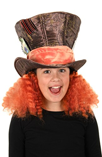 elope Disney's Alice Through the Looking Glass Madhatter Hat with (Madhatter Costumes)