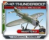 Parkflyers P-47 Thunderbolt RTF 200 Class RC Electric Plane
