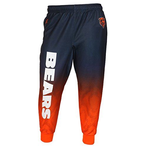 (Chicago Bears Polyester Gradient Jogger Pant Medium)