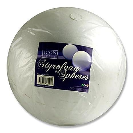 color blanco 200 mm Premier papeler/ía 200/mm Icon Craft de poliestireno sphere-p