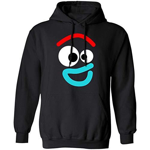 Disney and Pixar Toy Story 4 Forky Smiling Costume Tshirt (Hoodie;Black;XL)]()