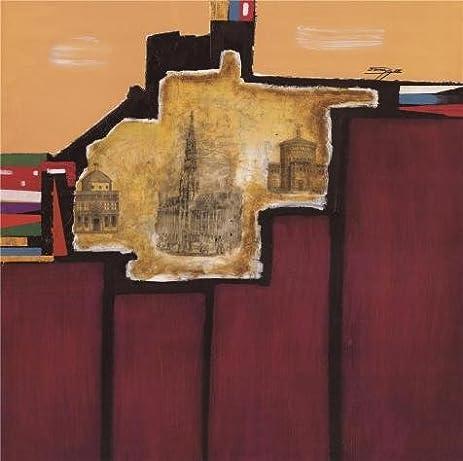 amazon com oil painting modern european architecture 30 x 30