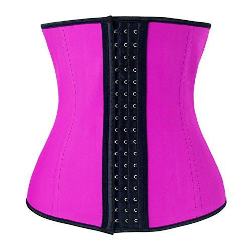 Waist Corset Body Shaper (Pink) - 9