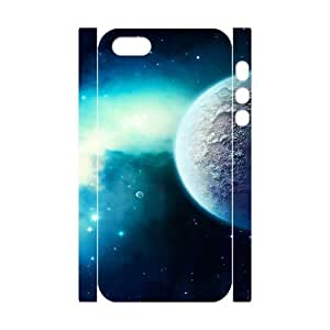 Iphone 5/5S Case 3D, Planet In Starry Space Case for Iphone 5/5S white lm5s177097