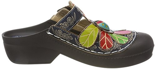 Jeans Laura Jeans Dragon 02 Women's Vita Blue Clogs FwqFS
