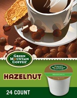 Green Mountain Coffee Hazelnut K-Cup Coffee,48 ()