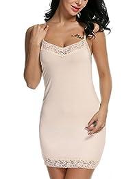 Women's Chemise Nightgown Sleepwear Lace Lounge Dress...