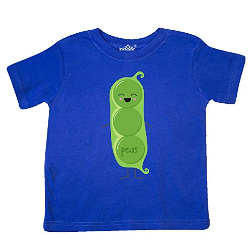 inktastic - Peas Costume Toddler T-Shirt 5/6 Royal Blue 31d0f