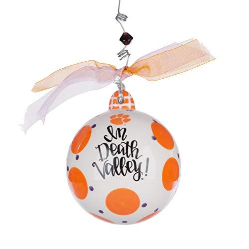 (Glory Haus Clemson Collegiate Hanging Ornament, Multi-Colored)