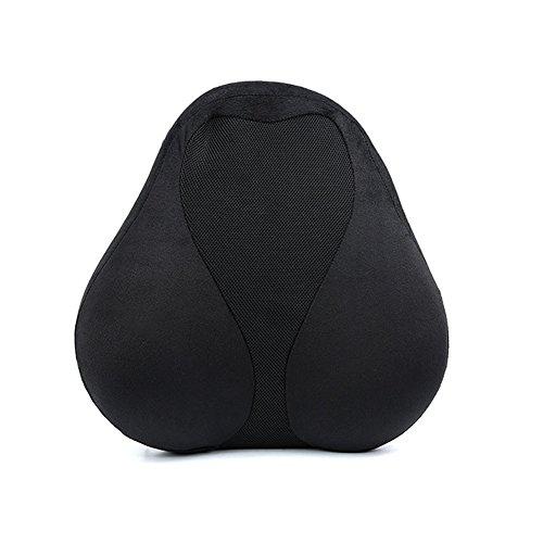 - NACHEN Penguin Lumbar Support Cushion Pillow for Office Chair Car Seat Sofa Pillow,Black,430X385mm