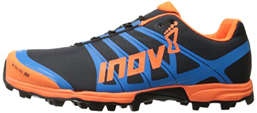 Inov-8 X-Talon™ 200-U Trail Runner, Grey/Orange/Blue, 7.5 M US