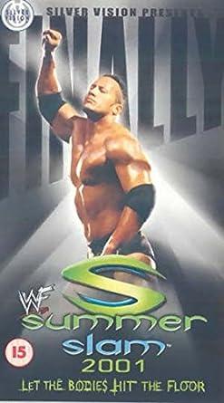 WWF - Summerslam 2001 [Reino Unido] [VHS]: Amazon.es: Dwayne ...