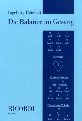 Die Balance im Gesang