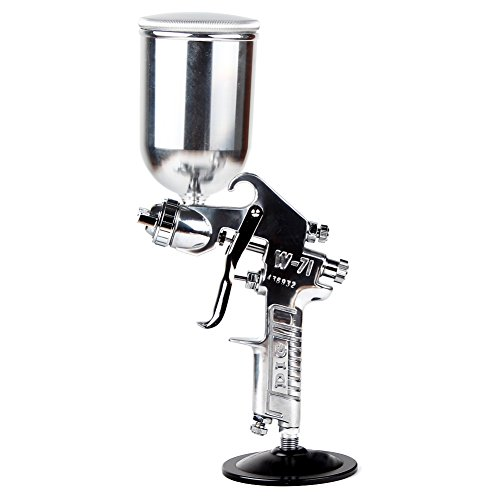 Professional Gravity Feed Air Spray Gun Nozzle 1.3MM with 400ml Stainless steel Cup