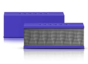 Photive CYREN Portable Wireless Bluetooth Speaker with Built in Speakerphone 8 hour Rechargeable Battery (Purple) (Discontinued by Manufacturer)