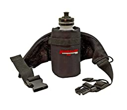 Bushwhacker® Oasis - Insulated Hydration Hip Pack - Water Bottle Included - Black