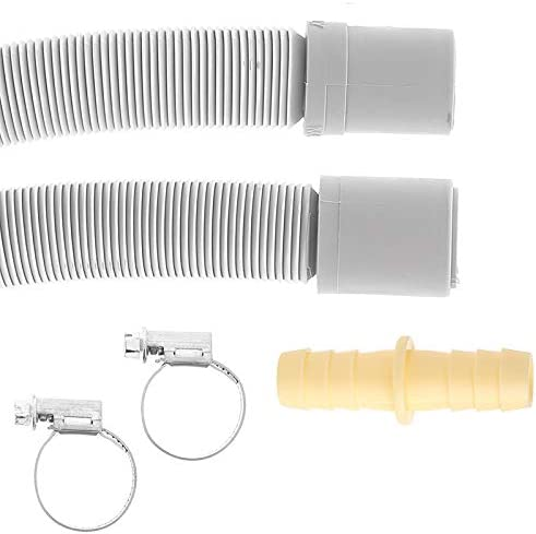 Masterpart Washing Machine Dishwasher Drain Waste Hose Extension Kit 2m