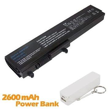 Battpit Bateria de repuesto para portátiles HP Pavilion DV3680es Notebook PC (4400 mah) con 2600mAh Banco de energía/batería externa (blanco) para ...