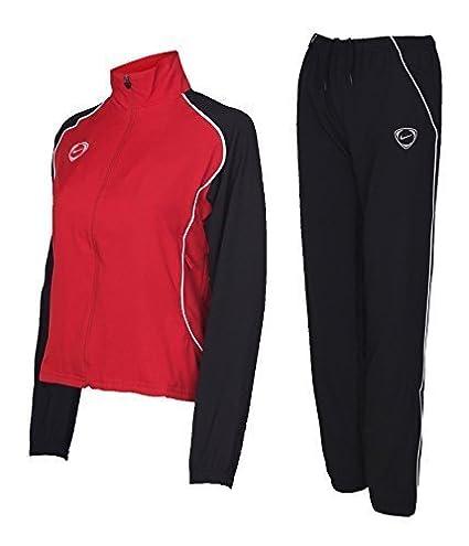 Nike Chándal de mujer, cierre de cremallera, color negro, azul ...