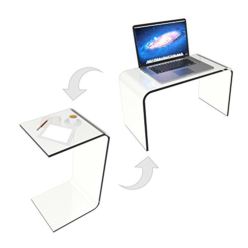 Lavish Home 80 ACRYL DSK End Table product image