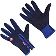 Aomh Winter Gloves Windproof Thermal for Men Women Outdoor Running Cycling Hiking Driving Climbing Touch Scree
