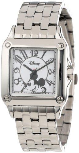 Disney Women's W000469 Mickey Mouse Perfect Square Bracelet Watch - Arabic Square Clock