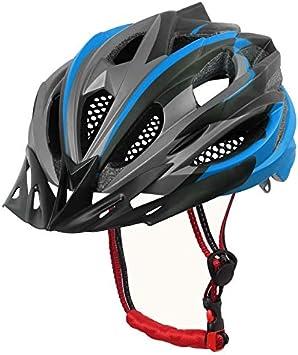 BTAWM Casco Bicicleta Ciclismo Casco Ultralight EPS + Cubierta de ...