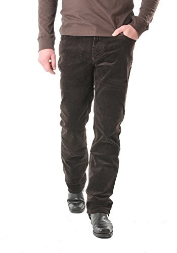 PIONEER 1144-3213-37 Cord-Stretch-Jeans RON Steel: Weite: W31 | Länge: L34