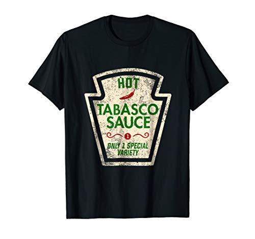 (Tabasco Sauce Funny Halloween Costume Gift T-Shirt)