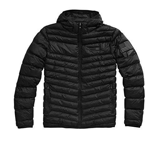 100% Delta 1 Puffer Jacket (LARGE) (BLACK) by 100%