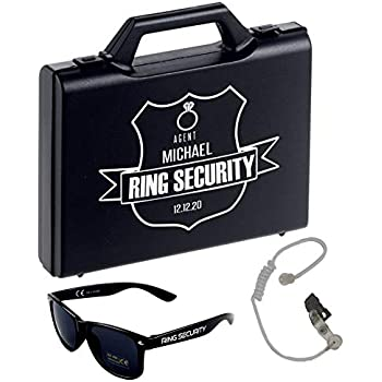 Amazon.com: Personalized Ring Security Case - Ring Bearer