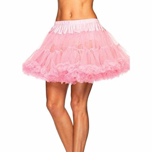 [Mememall Fashion Layer Tulle Petticoat Skirt Tutu Costume Ballet Princess Full Halloween Costume] (Cat In The Hat Costume Tutu)