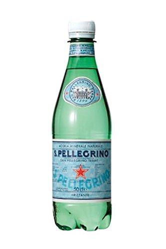 Sanpellegrino(サンペレグリノ) ナチュラルミネラルウォーター(微炭酸) 500ml×24本 [並行輸入品]
