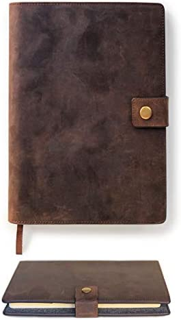 Premium Leather Refillable Notebook Elegance product image