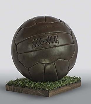 ALL SPORT VINTAGE Balón de fútbol - Chocolate, Green-tee: Amazon ...
