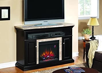 Amazoncom ClassicFlame Brighton Electric Fireplace Media Console