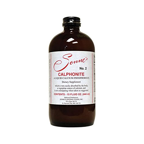 Sonne's Calphonite Liquid Calcium Phosphorus, 15 Fluid Ounce