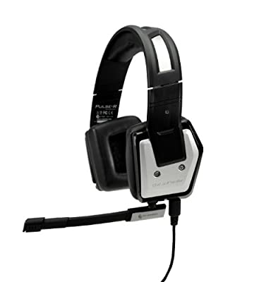 CM Storm Pulse-R Customizable Aluminum PC Gaming Headset with Detachable Mic and LED Lighting