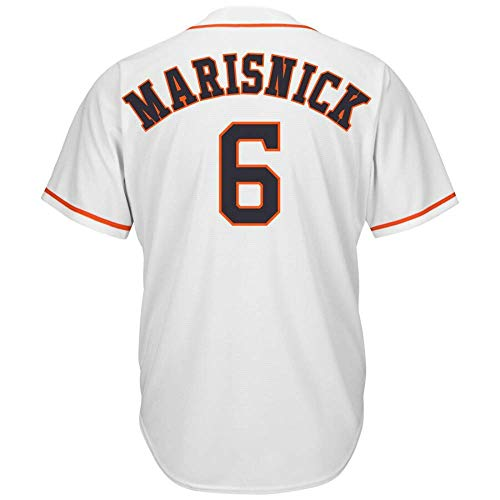 CNmlb Men's/Women/Youth_Astros_#6_Jake_Marisnick_White_Alternate_Cool_Base_Player_Jersey