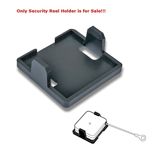 Count of 10 New Retails Black Finish Plastic Security Reel Holder