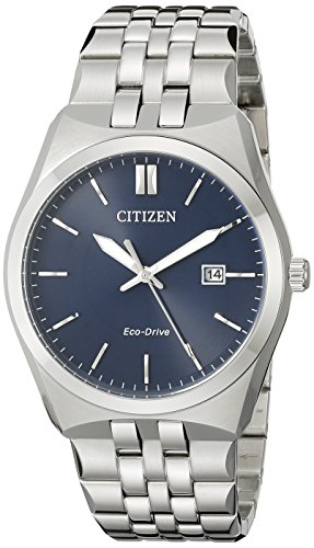 (Citizen Men's Eco-Drive Stainless Steel Watch with Date, BM7330-59L)